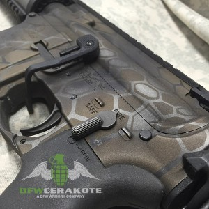 AR15 Kryptek Pattern